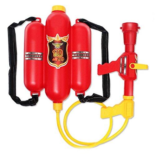 Jutao Kids Super Soakers Backpack Water Gun Toy Pistol Squirt Gun Firefighter
