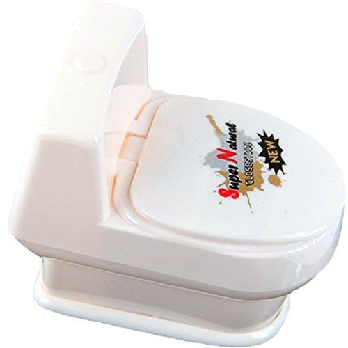 TOOGOOR White Mini Interesting Funny Toilet Bowl Supernatural Water Gun Toy For Kids Children