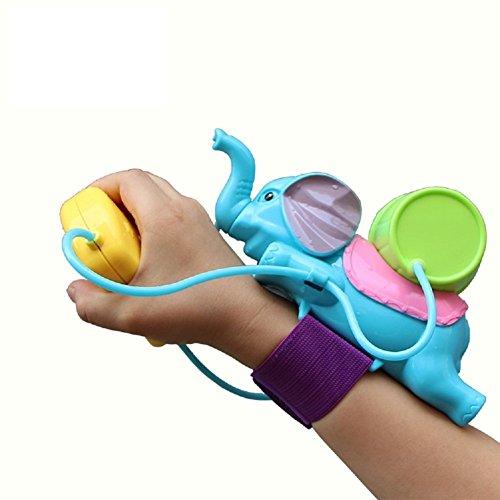 YOSWAN Plastic Wrist Length Type Spray Water Elephant Shape Soaker Blaster Gun Squirt Water Pistols Outdoor Beach Summer Joker Toys for Boys Girls Toddlers