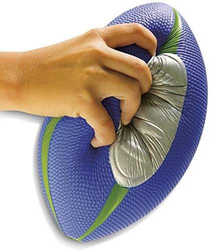 Diggin Squish Soft Kids Football Easy Grip Foam Ball Outdoor Indoor Sports Toy