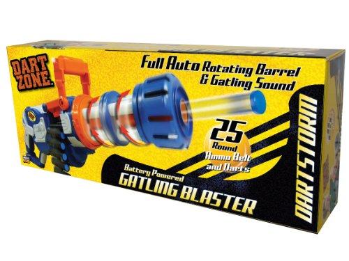 Prime Time Toys Dart Zone Gatling Blaster Foam Tip Dart Gun