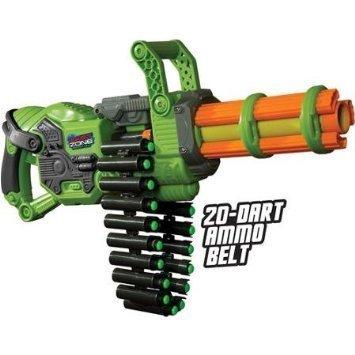 Prime Time Toys Dart Zone Scorpion Motorized Automatic Gatling Blaster by Dart Zone