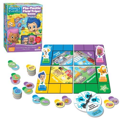 Nickelodeon Bubble Guppies Fin-Tastic Field Trips Board Game 105 x 8