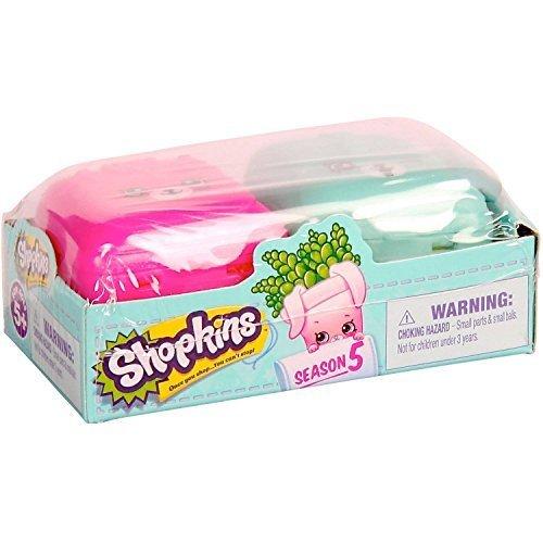 Shopkins Birthday Gift Basket Birthday Bundle Mega Season 5 Toy Figure Radz Snow Crush Lolli Pokins Bubbles Pop Rocks by Lets Journey into Fashion