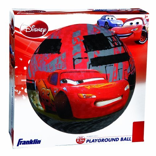 Franklin Sports Disneys Cars Kids 85 inch Rubber Playground Ball by Franklin Sports