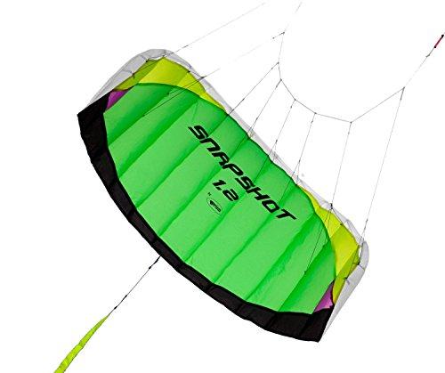 Prism Snapshot 12 Speed Foil Kite Lime