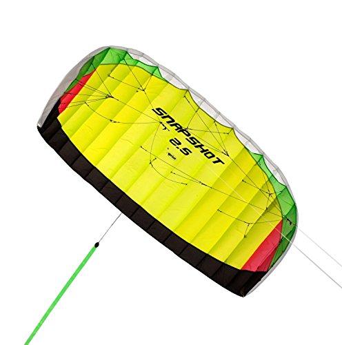 Prism Snapshot 25 Speed Foil Kite Yellow