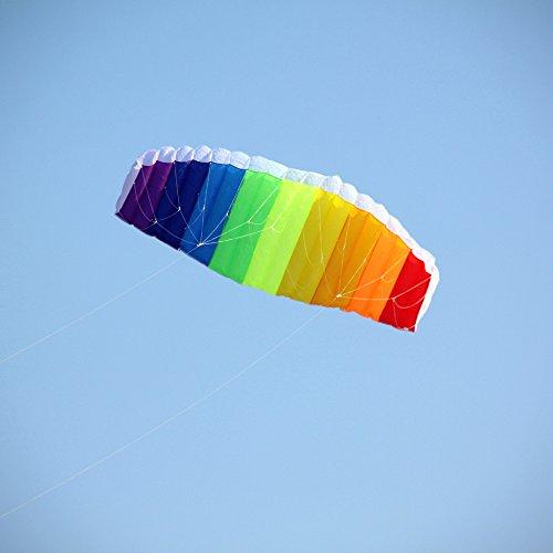Seekingtag Rainbow Sport Kite 62 Inch
