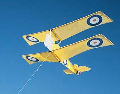 Sopwith Trainer Squadron Model Airplane Kite Kit