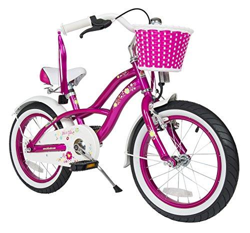 Bikestar 16 Inch 406cm Kids Childrens Bike Bicycle - Cruiser - Lilac  Purple