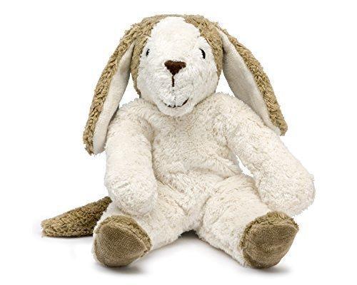 Senger Stuffed Animals - Dog - Handmade 100 Organic Toy WhiteBeige - 12 Inches Tall by Senger Tierpuppen