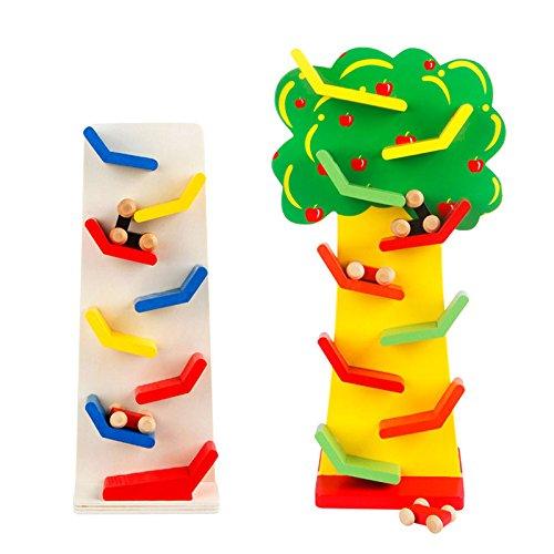 Jia Jia Trade Marble Run Play Set Mini Gliding car Slide Maze Roller wooden Toys for Children Boy Girl