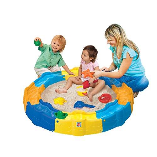 13 Piece Sand N Play Build a Box Set Kids Sandbox