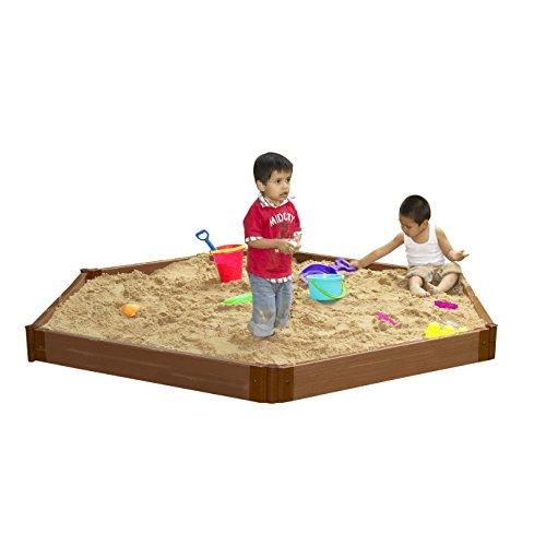 Hexagonal Sandbox Kids Sandbox - 6