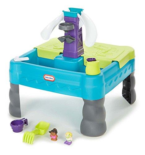 Little Tikes Sandy Lagoon Waterpark Play Table TealGreen