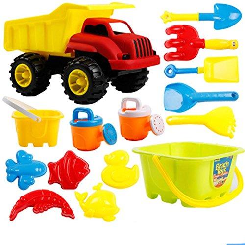 Childrens Beach Toys Dump Truck Sunny Patch Seaside Sidekicks Sand Baking Set