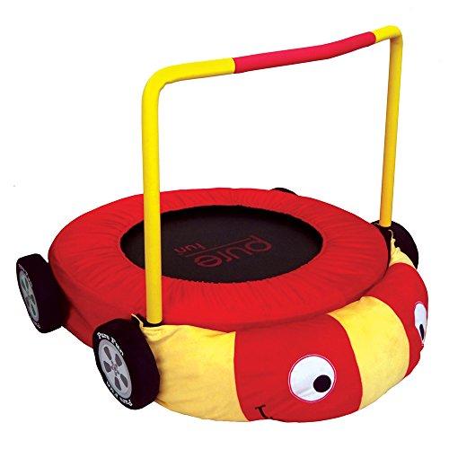 race car jumper kids trampoline red yellow