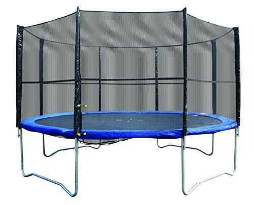Super Jumper Trampoline Combo Trampoline  Safety Net Blue 12-Feet