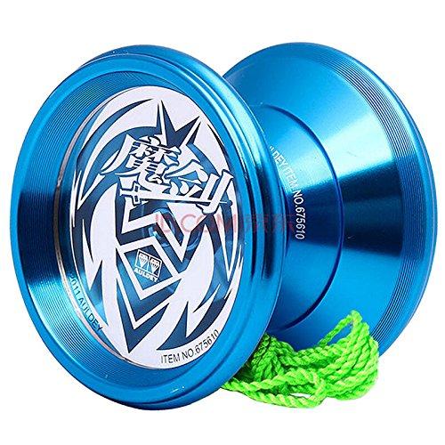 Auldey YoYo New Design Aluminum Professional Yo-yo Unresponsive YoYo ball Blue
