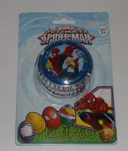 Marvel Ultimate Spider-Man Light Up Blue Yoyo