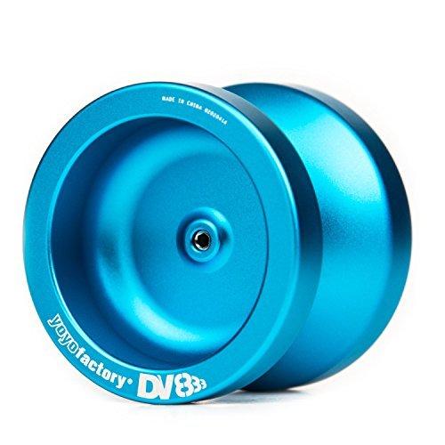 YoyoFactory DV888 Yo-Yo Blue by Yo Yo Factory