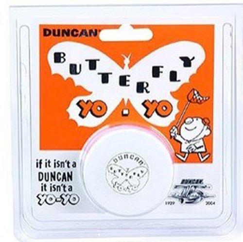 Duncan Vintage Wood Replica Butterfly Yo-Yo - White