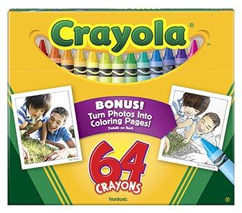 Crayola Regular Size Crayon 64pk