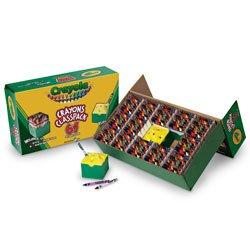 Crayola Regular-Size Crayon Classpack - Pkg of 832 Crayons64 Colors