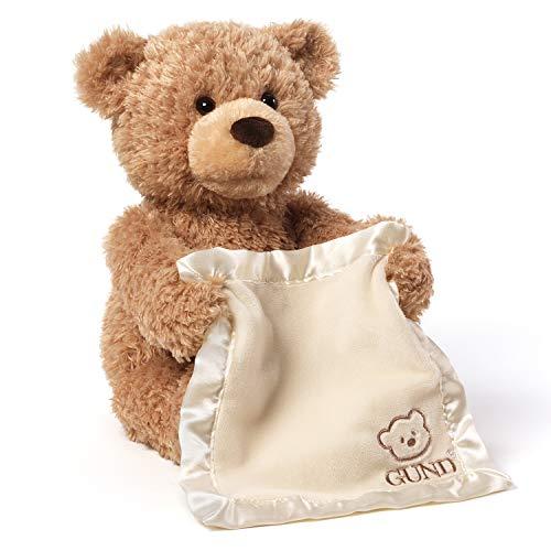 GUND Peek-A-Boo Teddy Bear Animated Stuffed Animal Plush 115