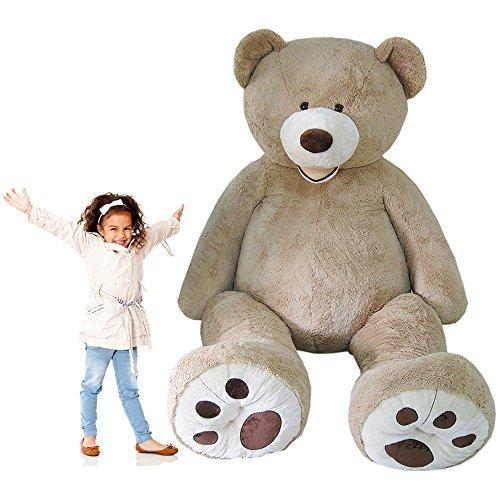 KAYSO INC 102 Oversize Giant Teddy Bear Jumbo Plush Gigantic Stuffed Animal 85 FT