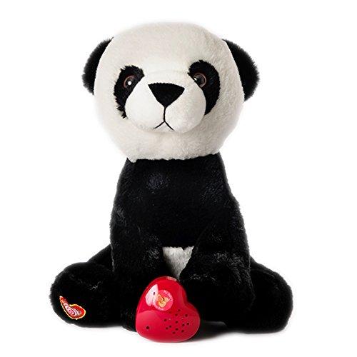 MBHB - Panda Bear Stuffed Animal w 20 sec Voice Recorder - Panda Bear