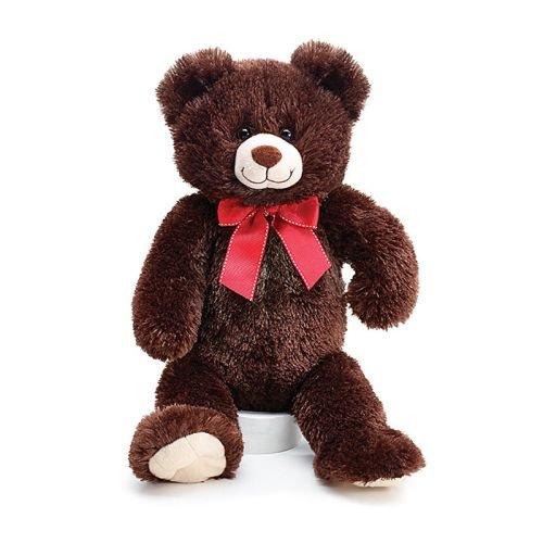 Plush Sitting Justin 15 Valentines Bear