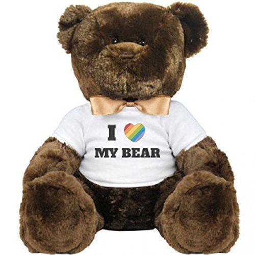I Heart My Gay Bear Large Plush Teddy Bear