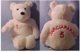 Jan 1999 15 Beanos Nomar Garciaparra Large Plush Teddy Bear