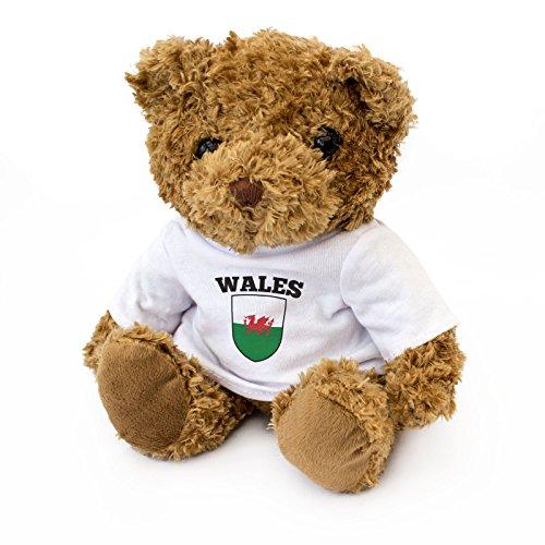 NEW - Wales Flag - Cute And Cuddly Teddy Bear - Welsh Fan Gift Present Cymru