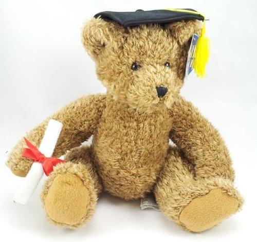 Plush Cuddly Teddy Bear Stuffed Animal Graduate