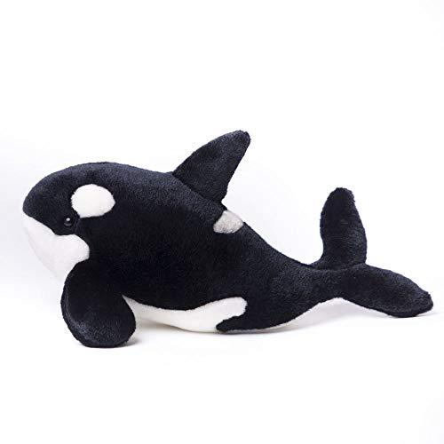TAMMYFLYFLY Stuffed Toy Orca Whale - 12 Plush Killer Whale Stuffed Animal