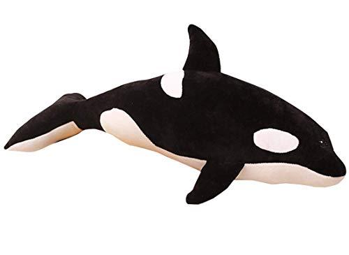 TOPJIN hot Adorable Shark Plush Killer Whale Stuffed Animal Plush Blackfish Tiger Tale Toys 1968inches