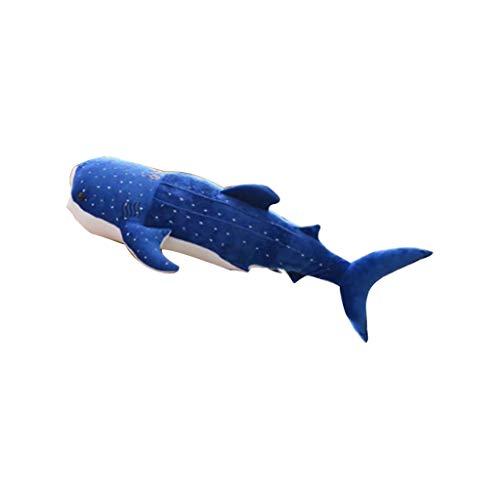Xdodnev 5575cm Shark Plush Toys Big Fish Cloth Doll Whale Stuffed Animal Birthday Gifts