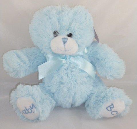 Baby Paws 8 Inch Blue Baby Boy Teddy Bear K76 BOY Toy
