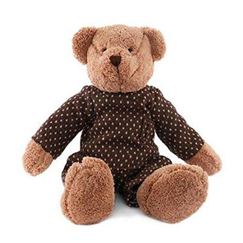 Dongcrytal 157 Coffee Boy Teddy Bear Stuffed Animal Toy Soft Plush Doll
