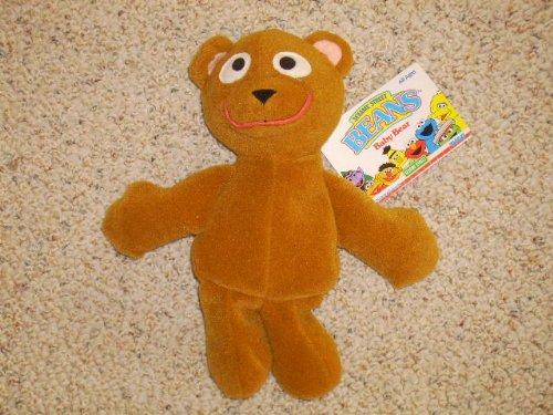 Sesame Street Beans Baby Bear Plush