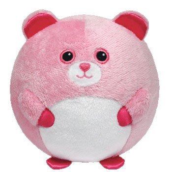 Ty Beanie Ballz Pinky Baby Bear Plush by TY Beanie Ballz