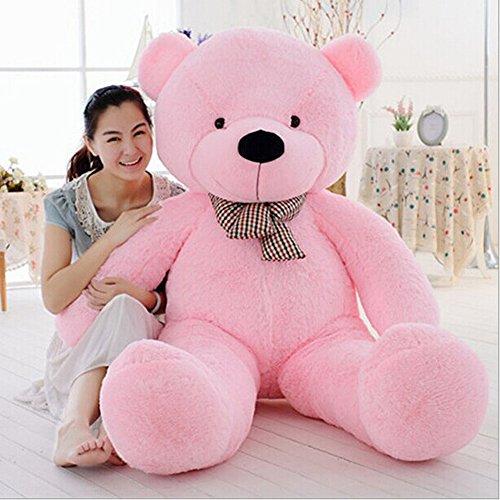 MorisMos Giant Cute Soft Toys Teddy Bear for Girlfriend 47 120CM Pink