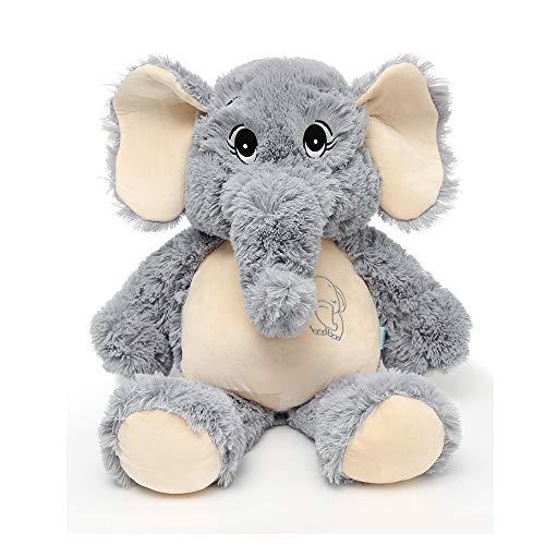 MaoGoLan Big Stuffed Elephant Giant Stuffed Animal Plush Toys for KidsGray26 Inches