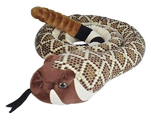 Wild Republic Snakes Super Jumbo Western Diamondback Snake Plush Giant Stuffed Animal Plush Toy Gifts for Kids 113