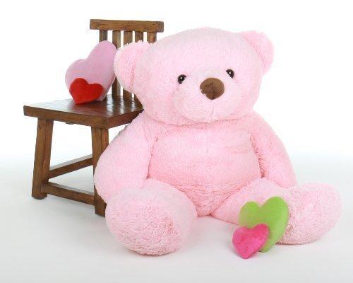Gigi Chubs - 47 - Extremely Cute Huggable Giant Teddy Pink plush teddy bear