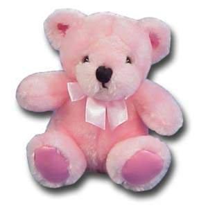 Plush Teddy Bear - 6 Pink by George