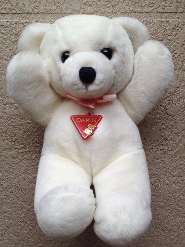 Dakin Plush White Bear
