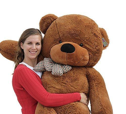 Joyfay Big Giant 63 160cm Dark Brown Teddy Bear Soft Stuffed Plush Animal Toy by Joyfay